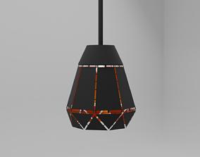 3D High-tech lamp