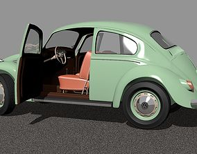 3D model Wolkswagen Old Beetle