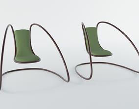 3D asset realtime Cantilever Chair