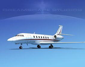 3D Dassault Falcon 2000 V12
