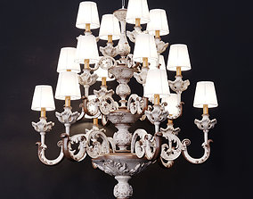 Classical chandelier Silvano Grifoni 3D