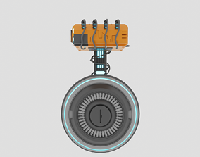 Droid from SW 3D asset