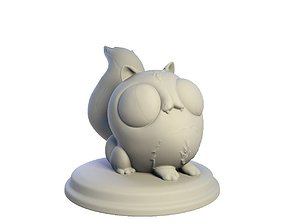 3D printable model Desktop figure Cat