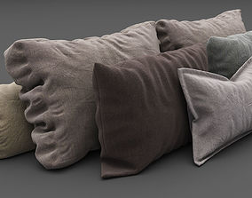 Pillows collection 3D
