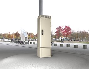 3D model Electrical Distribution Cabinet 22