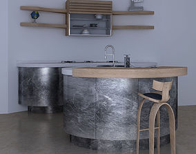 3D Kitchen - Round