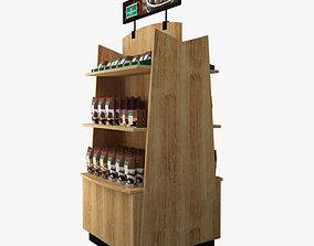 Coffee Stand Starbucks 3D model