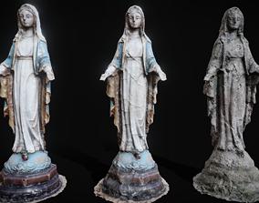 Saint Mary Statue 3D model