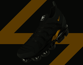 3D model Nike VaporMax Plus