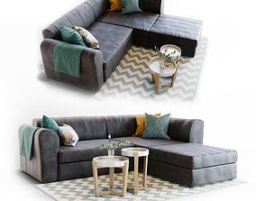 3D model Sofa Livingroom Set
