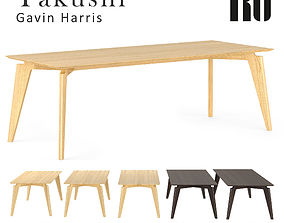 3D model Takushi dening table
