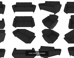 3D enzo sofa
