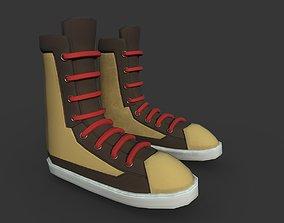 Boots Black 3D model