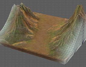 Terrain V01 3D asset