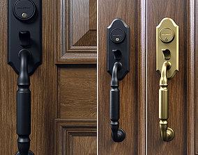 3D Ashton two-point lock handleset