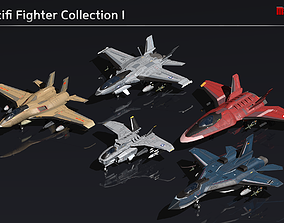 Scifi Fighter Collection I 3D