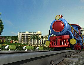 3D model Children amusement park 17