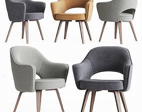 Saarinen Executive Arm Chair Knoll 3D