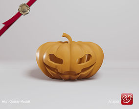 Halloween Pumpkin 3D printable model art