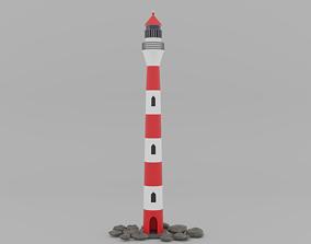 nautical 3D asset realtime Lighthouse