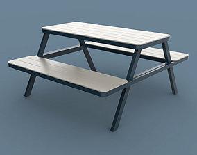 3D model Thada Garden Pic Nic Table