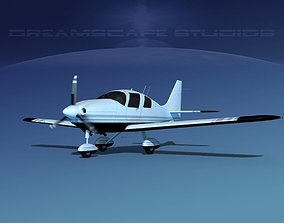 3D model animated Cessna 400 TTx V02