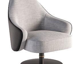 3D asset realtime furniture plaid Armchair