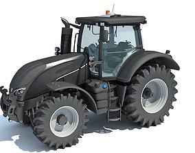 Black Tractor 3D