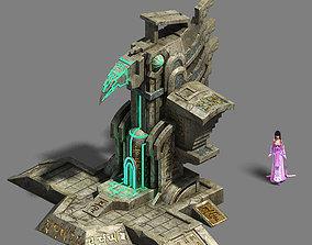 Maya Monuments - Architecture 3D model