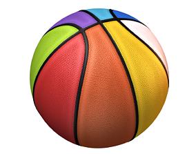 3D model Basket Ball 8 color