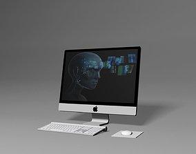 3D model Apple PC Desktop
