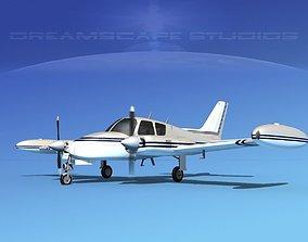 Cessna 310 V04 3D