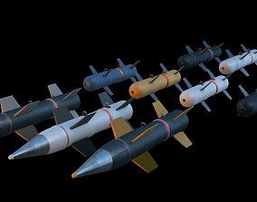 missile realtime Missile 3d model