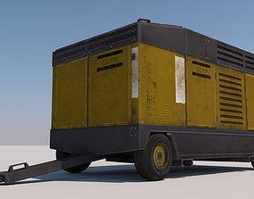Power Generator 3D model VR / AR ready