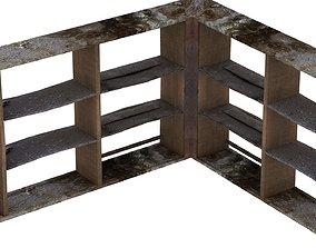 3D model Old Bar Counter 01 06