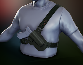 3D asset Chest Holster