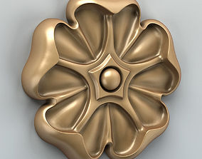 3D model Round rosette 011
