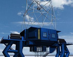 3D model Telescope 01