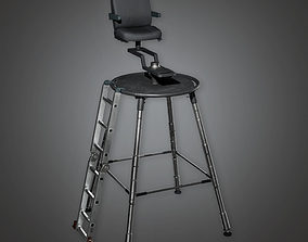 3D asset Production Dolly 01 HLW - PBR Game Ready