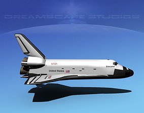 Space Shuttle Enterprise Basic LP 1-1 3D model