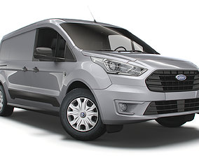 Ford Transit Connect Trend L2 DCIV 2021 3D model