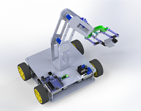 Controller robot with Gripper arm - 3D printable model 1
