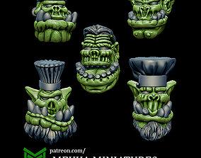Orc Cooks 3D print model