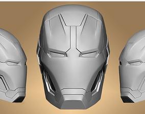 3D model Head Ironman