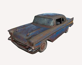 3D model Abandoned Car 09