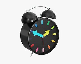 Alarm Clock 3D model game-ready PBR