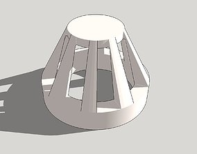 Airlock RED light covers for 3D printable model 2