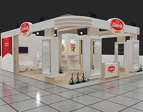 Exhibition Stand - ST0025 3D model