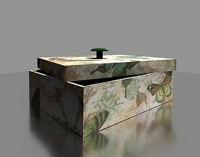 Jewelry Box 3D asset low-poly