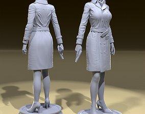 evil Ada Wong 3D print model
